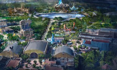 Disneyland Paris Lac Géant Montagne 40 Mètres