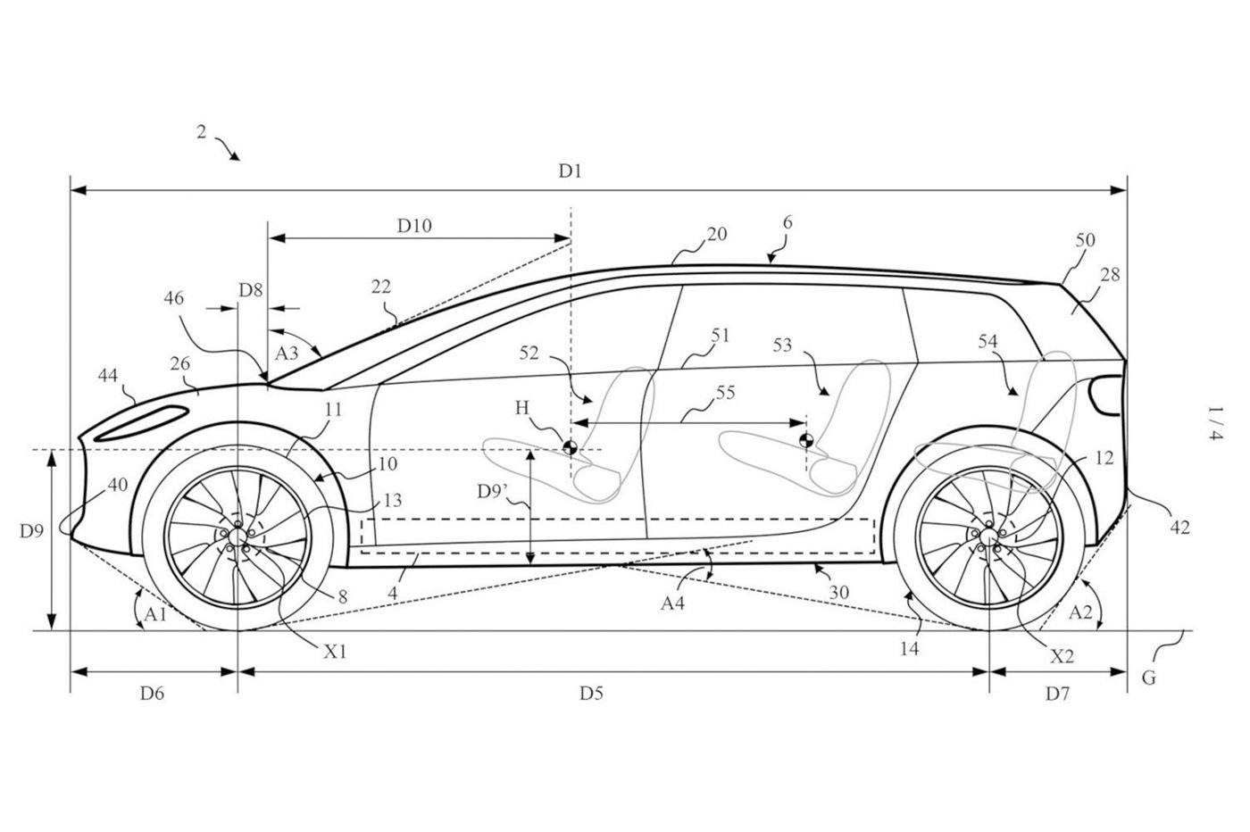 Dyson voiture électrique brevet