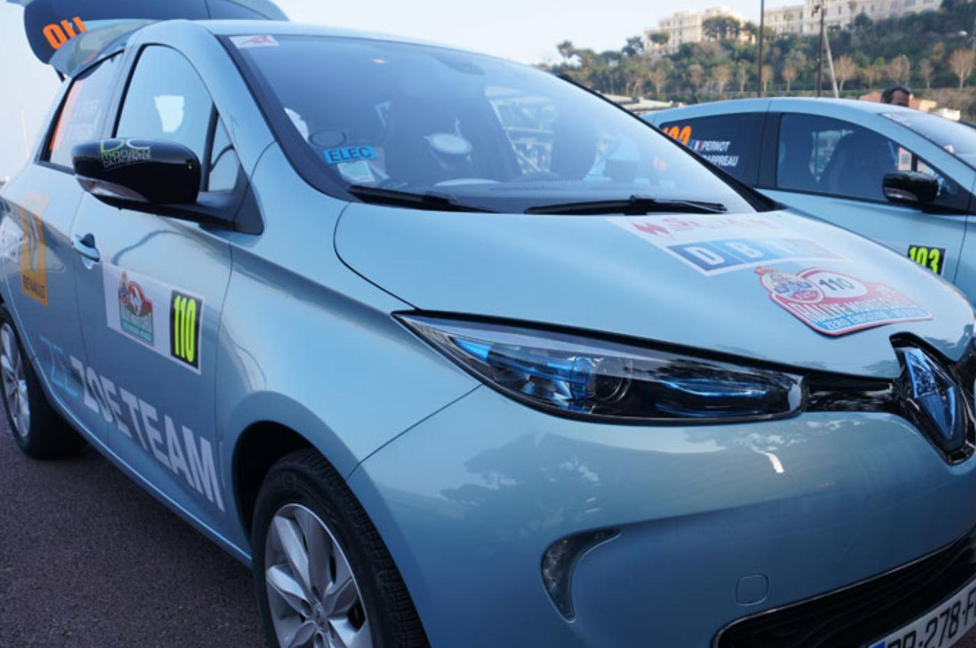 Renault Zoé E-Rallye de Monte-Carlo
