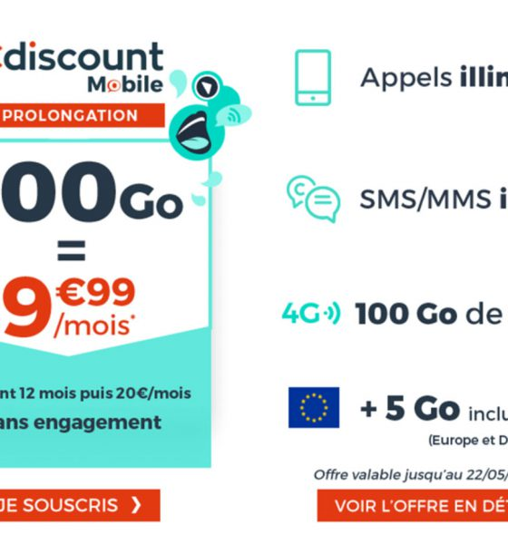 Forfait mobile Cdiscount
