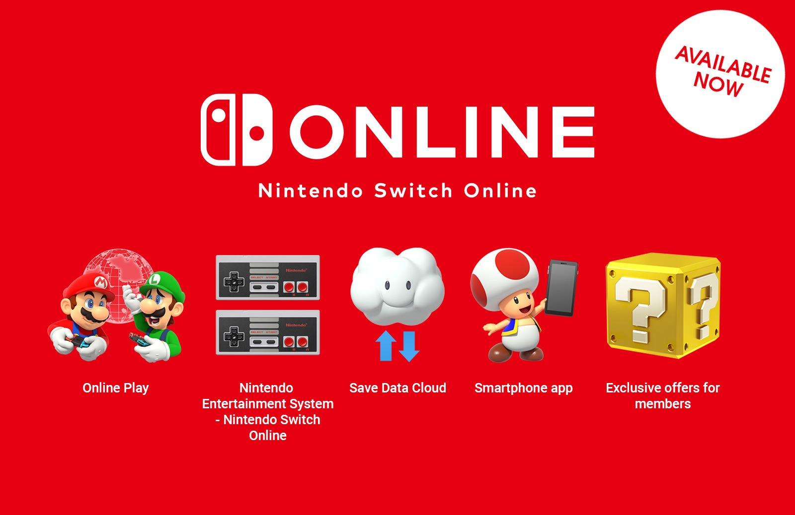 Nintendo Switch  Uppkopplad
