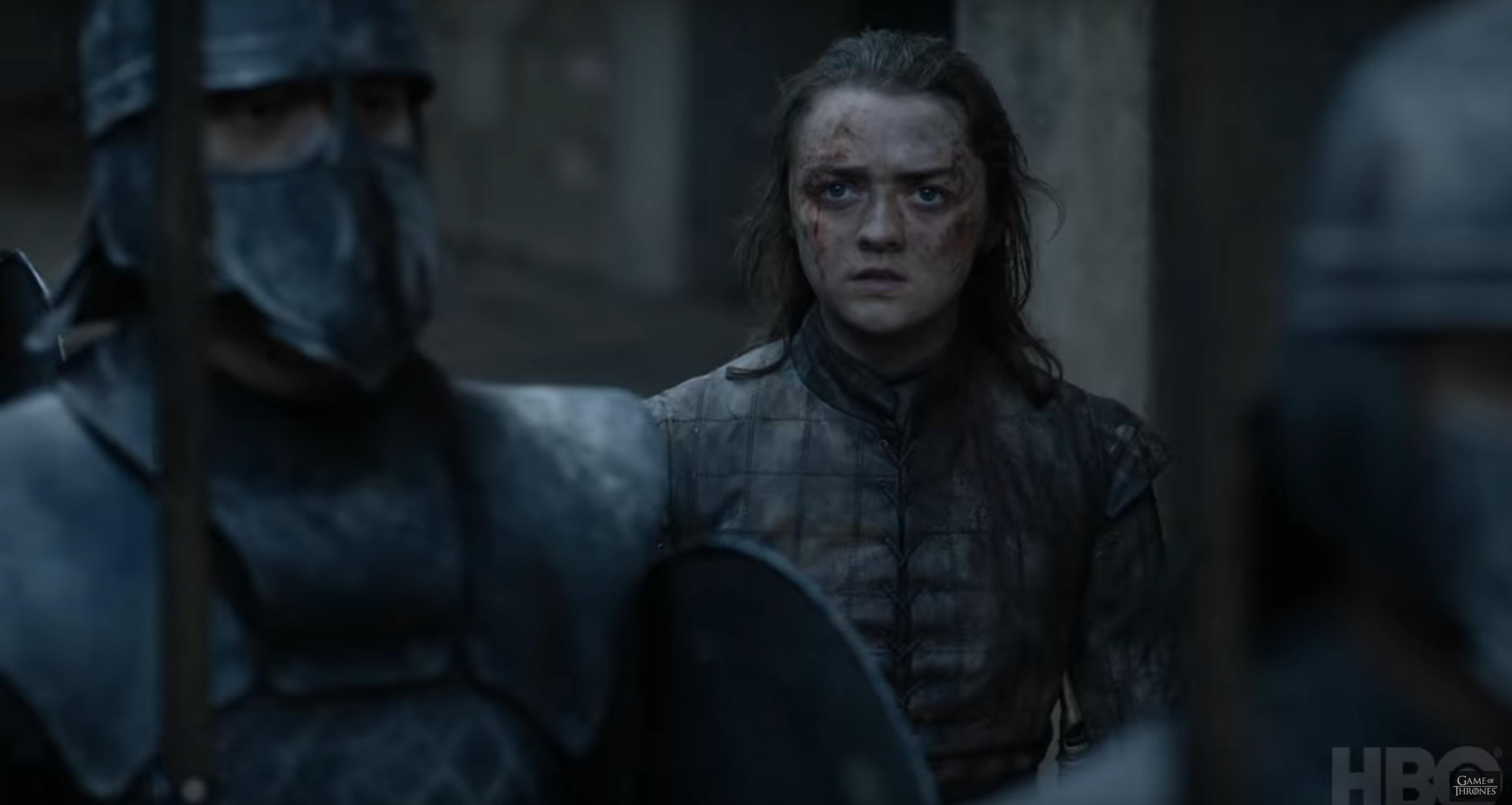 Game of Thrones arya de face