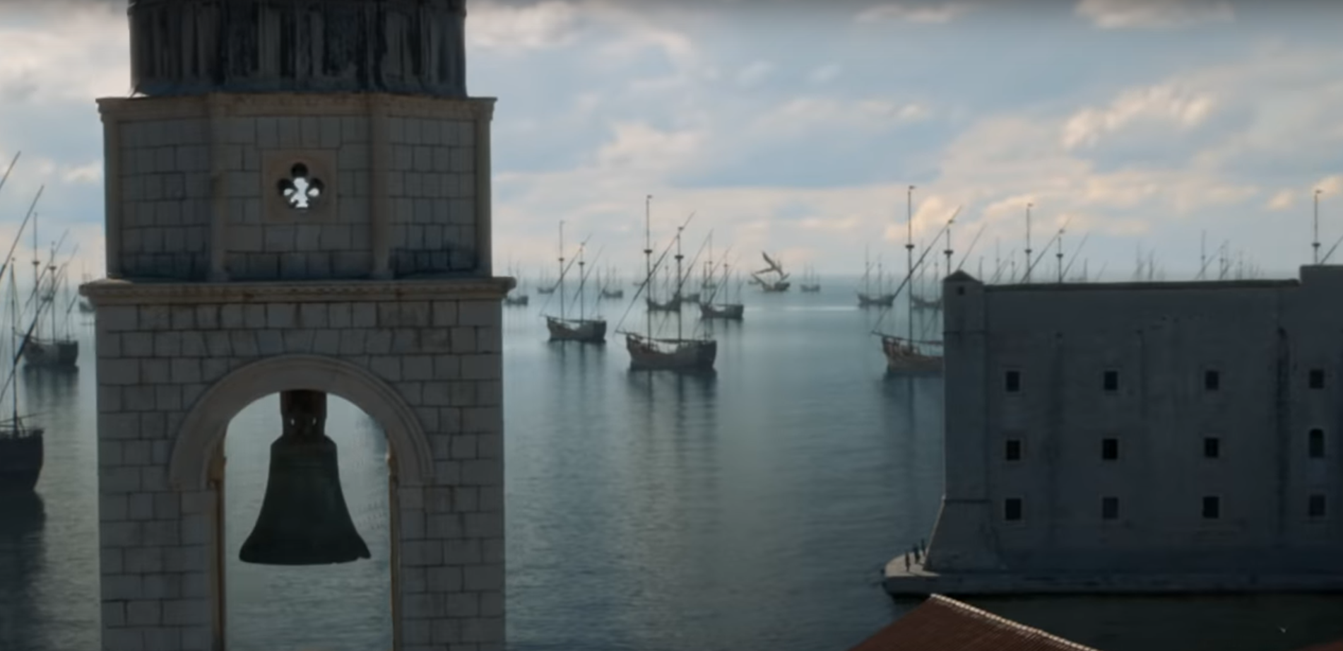 Game of Thrones bateaux bataille
