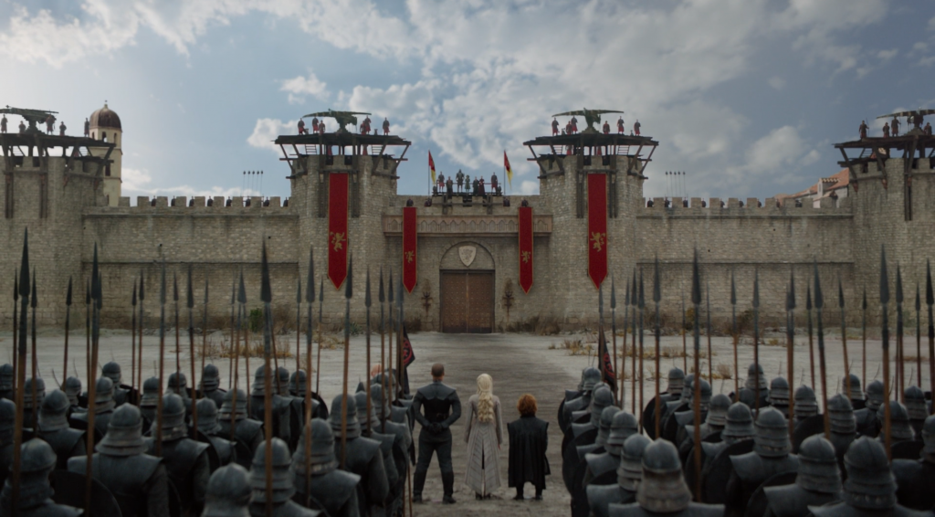 game-of-throGame of thrones bataille port real