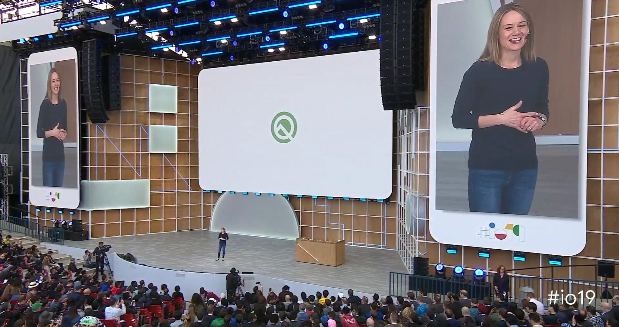 Google I/O android q