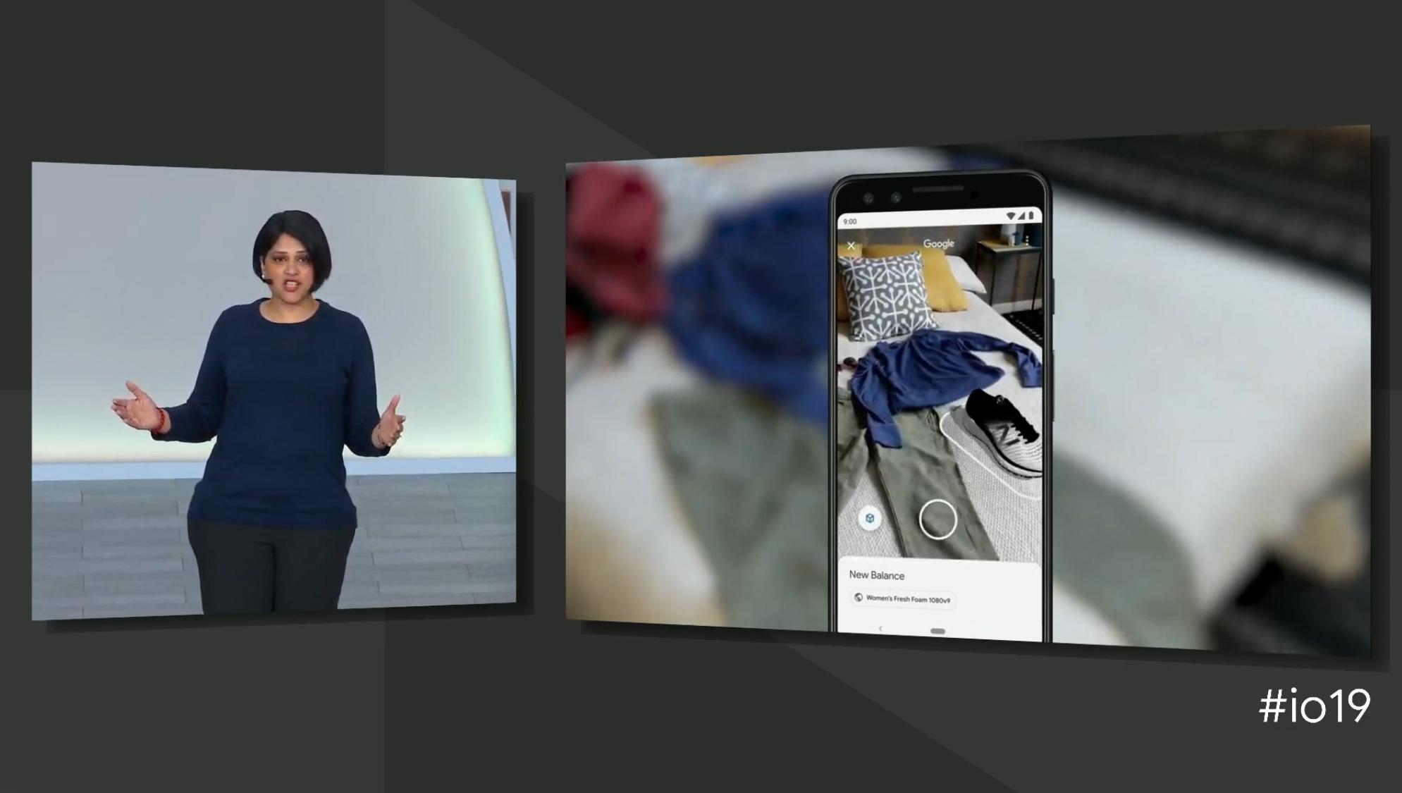 Google I/O 3D basket