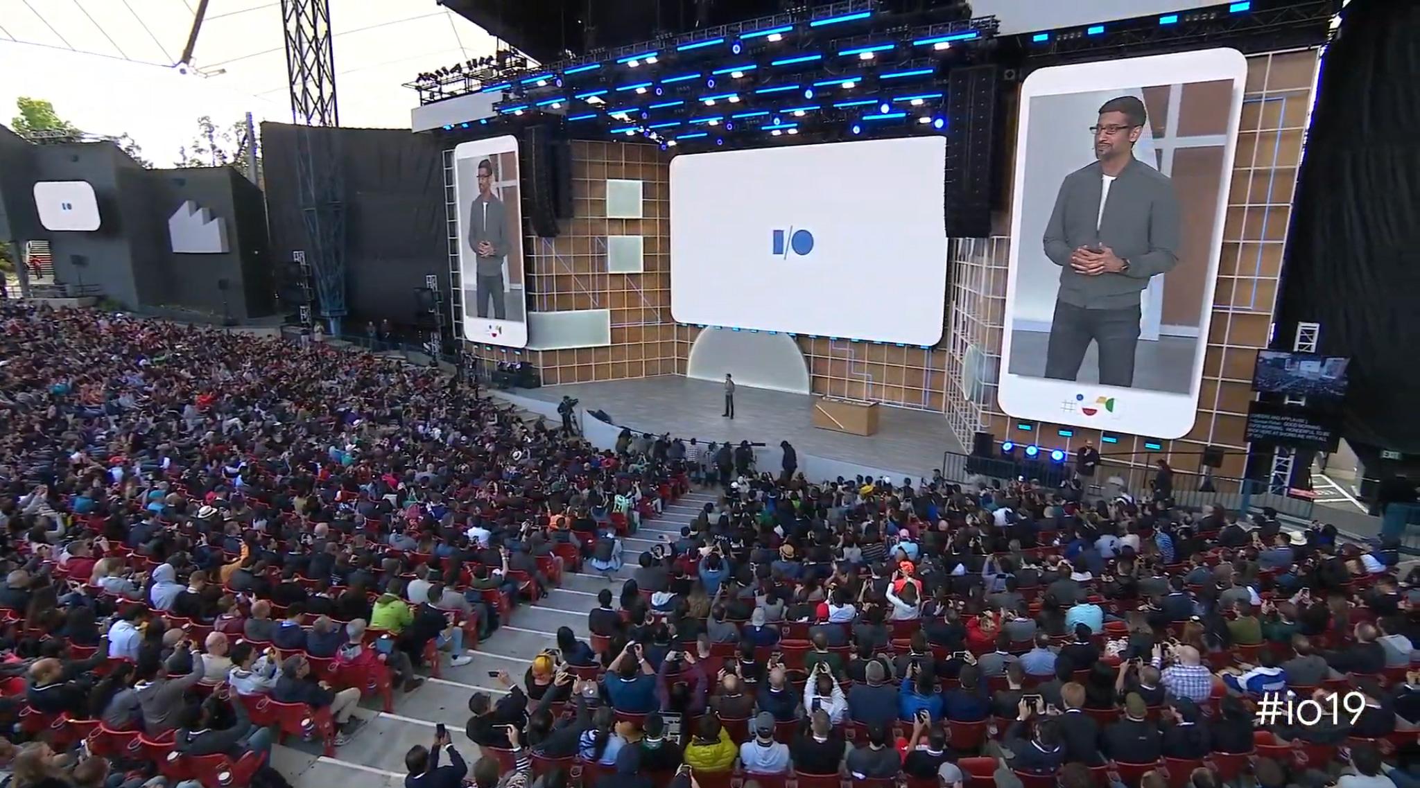 Google I/O Sundar pichai