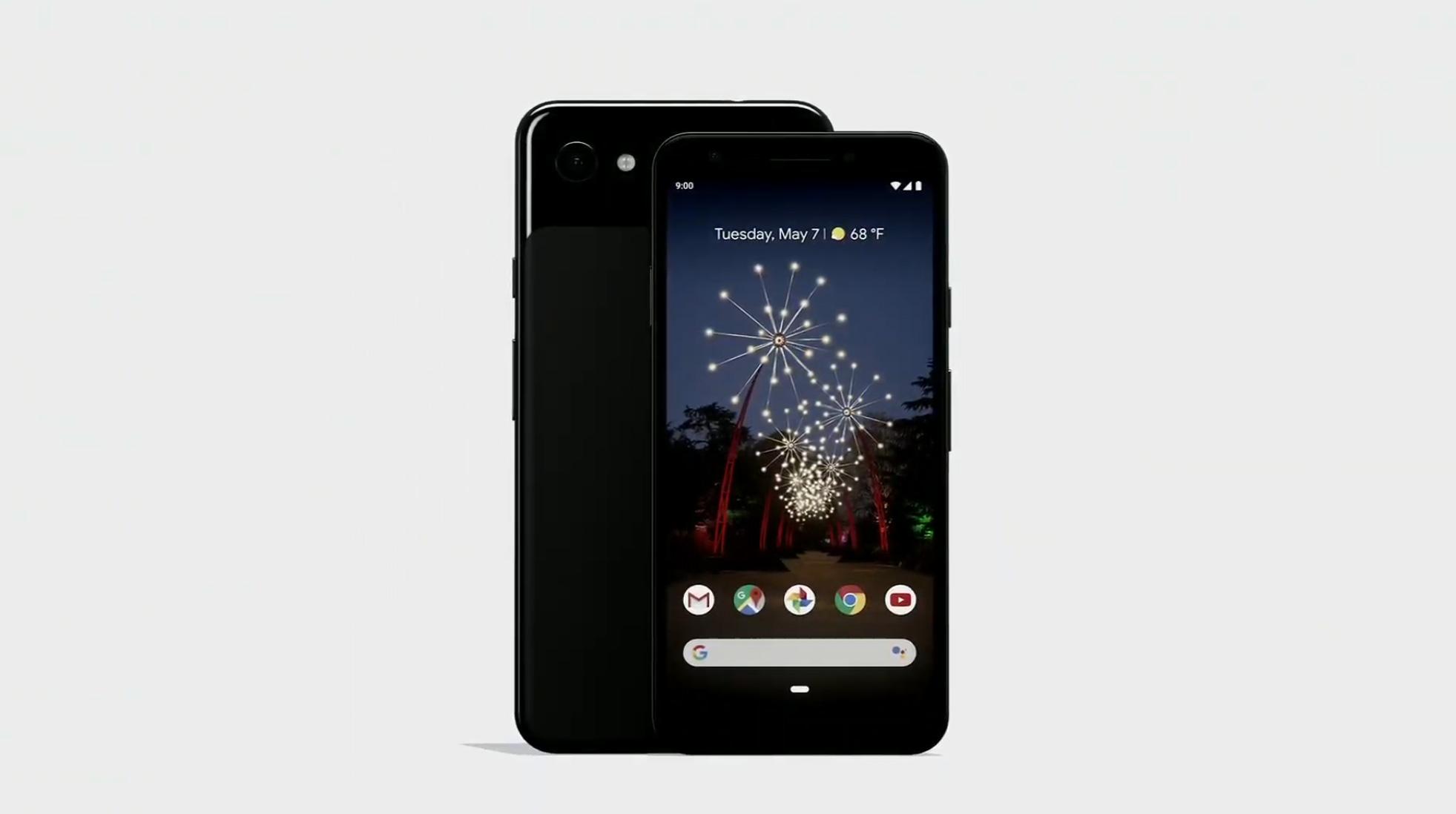 Google pixel 3a et 3a xl noir
