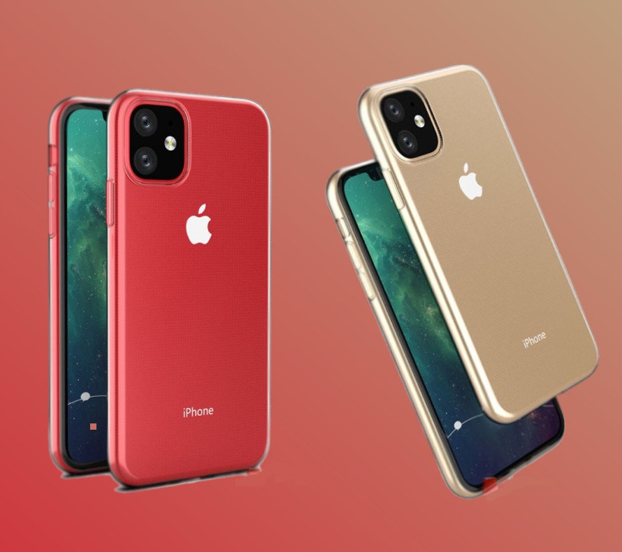 L'iPhone XR 2019 en rouge et or
