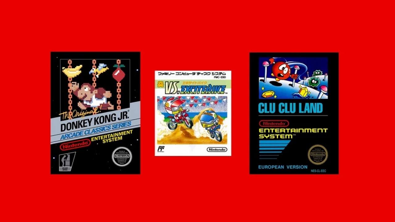 NES-spel maj 2019