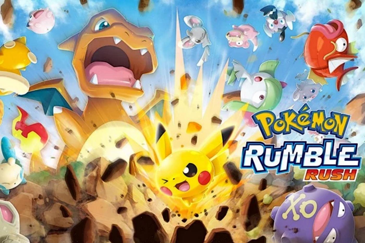 Pokémon Rumble Rush, le nouveau jeu gratuit mobile arrive sur Android