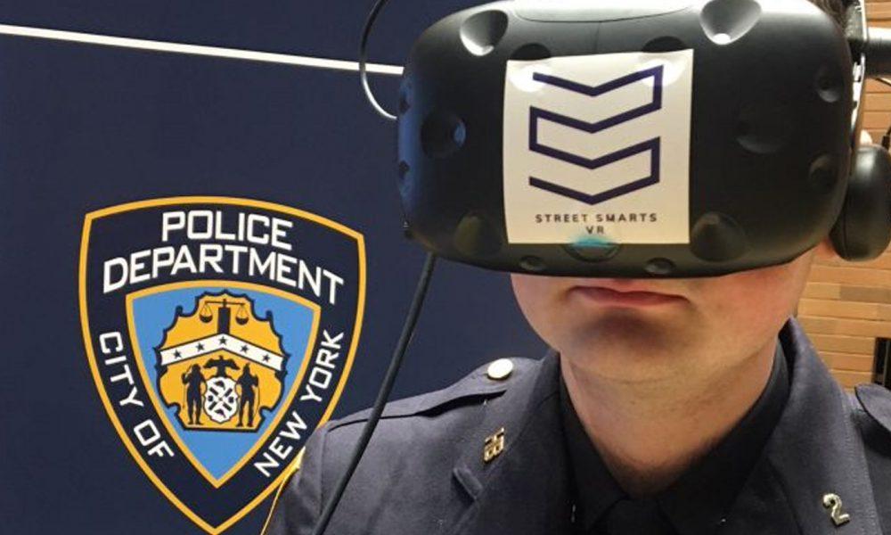Police New York Entrainement Réalité virtuelle Prises Otages