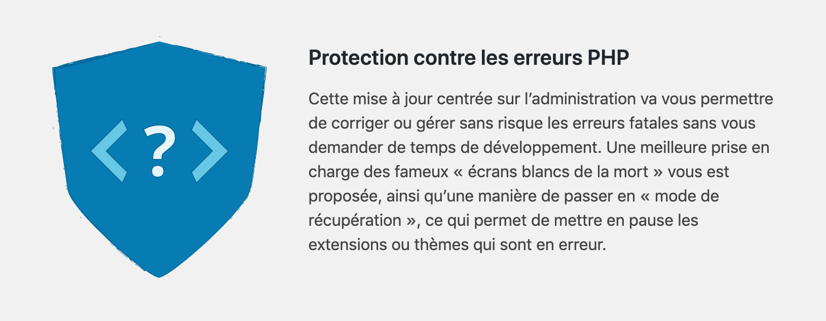 Protection PHP sur WordPress 5.2