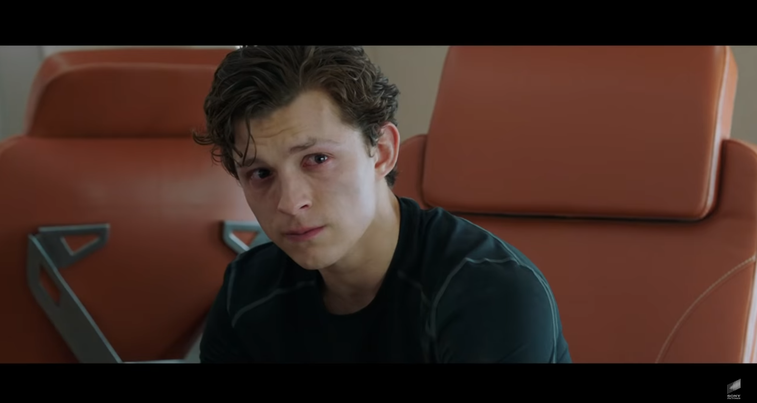 Spider-Man Far From Home Peter triste