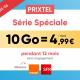 Prolongation promo Prixtel Forfait Mobile 25 juin