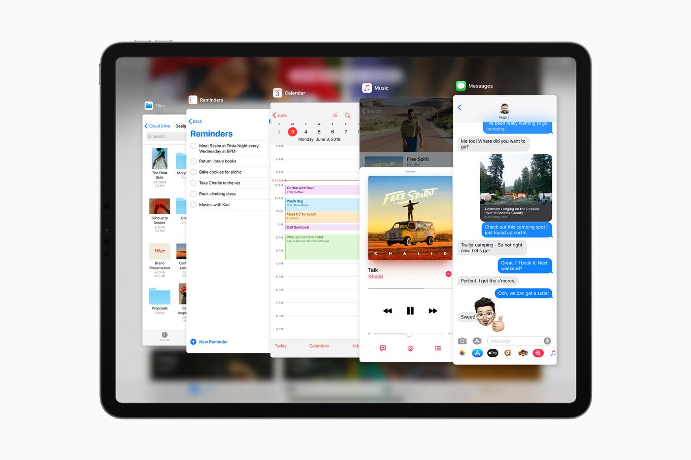 Avec iPadOS, l'iPad supporte (enfin) les souris