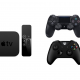Apple TV manettes Xbox One et PS4