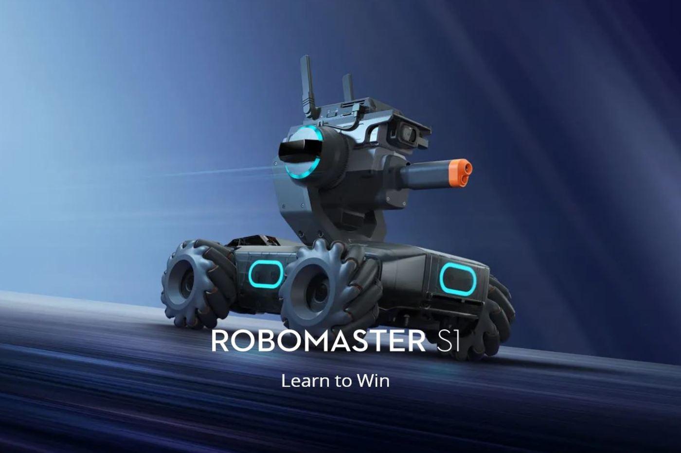 Un robot de combat chez DJI