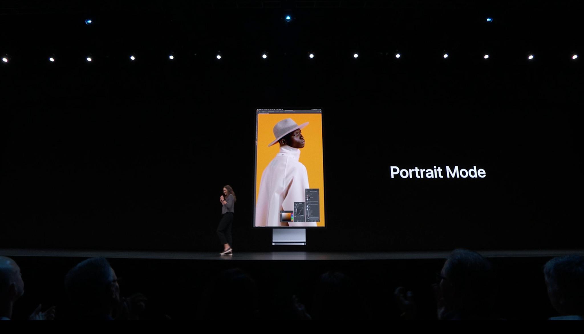 Ecran Mac Pro Vertical