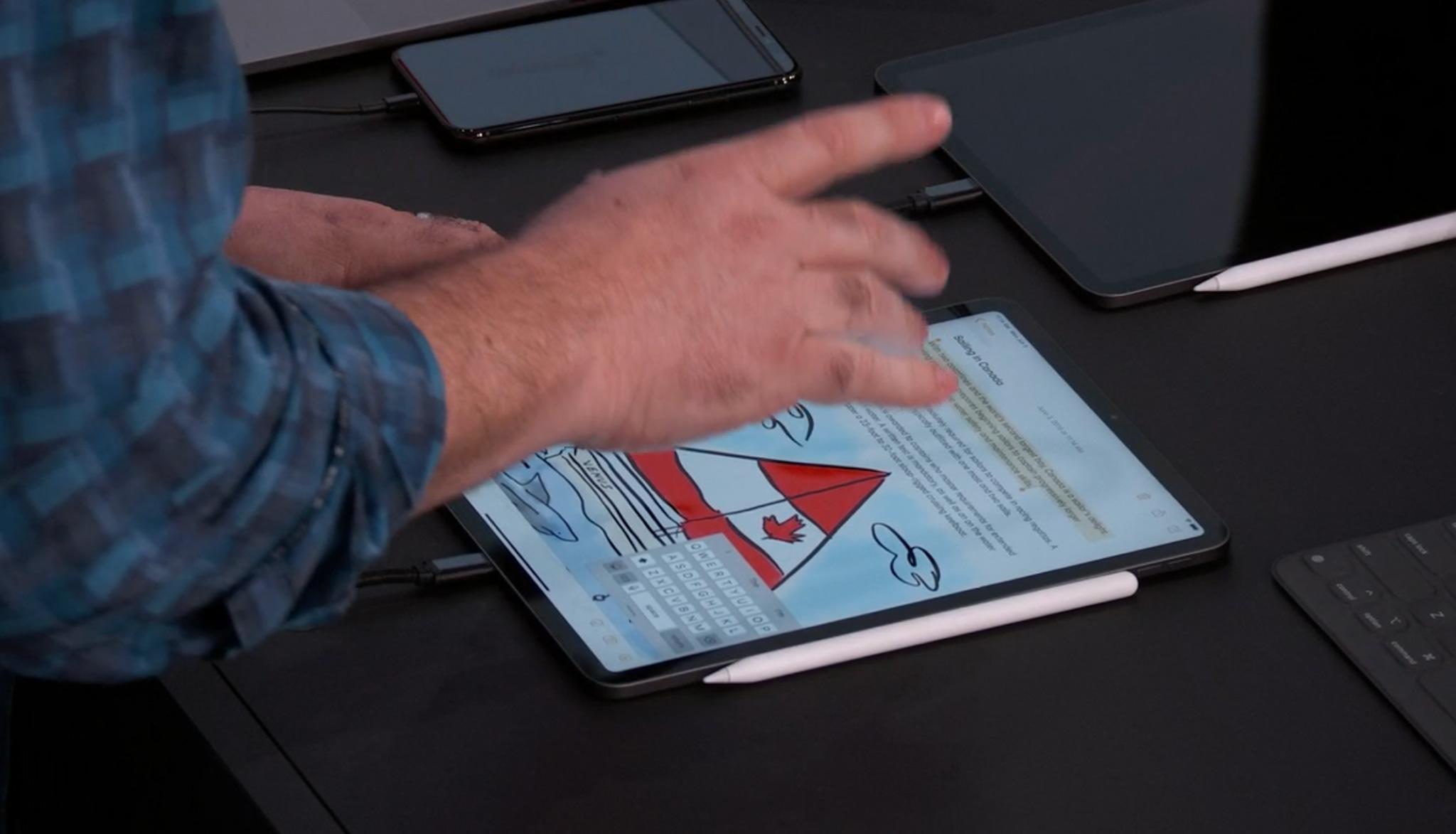 Gesture iPadOS