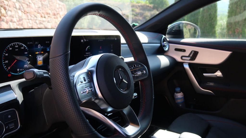 Mercedes CLA 2019 intérieur