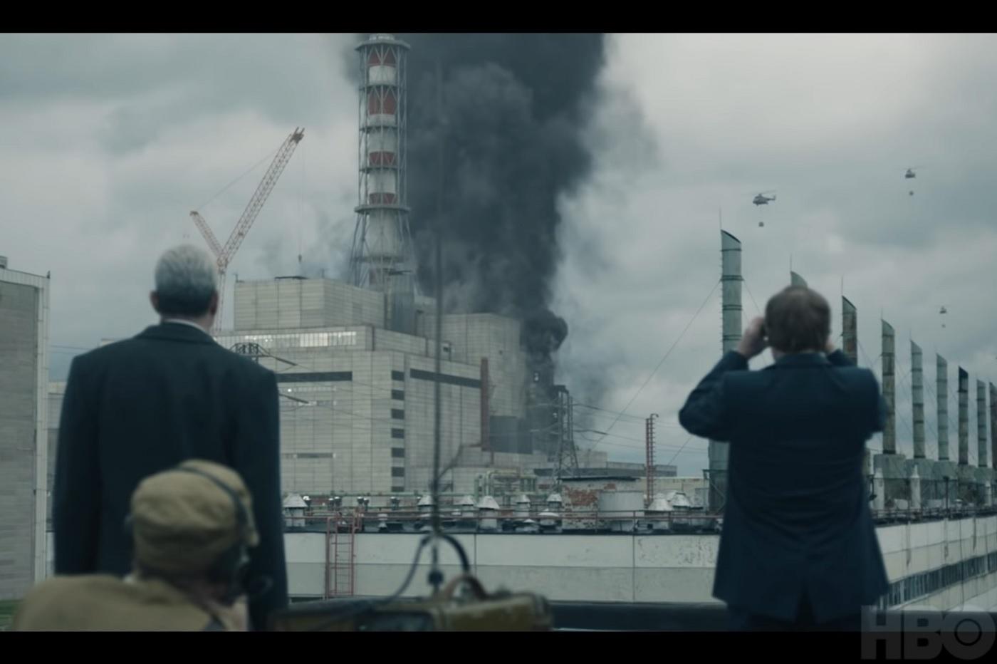 La série Chernobyl