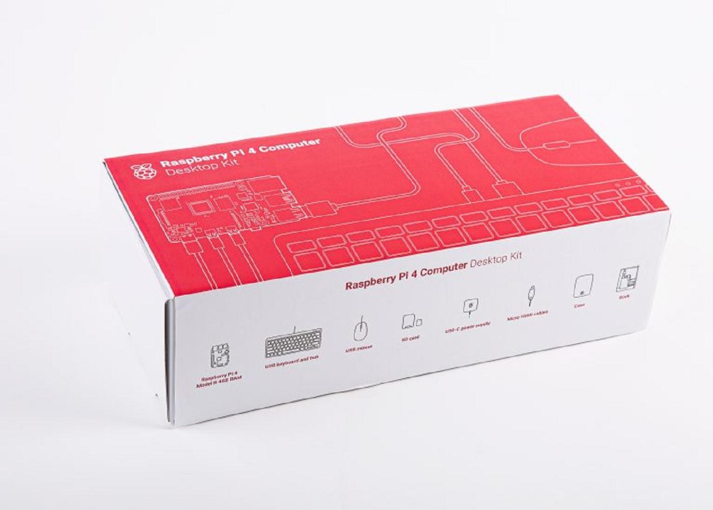 Le desktop Kit de raspberry Pi