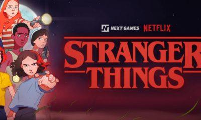 Le jeu basé sur Stranger Things de Netflix