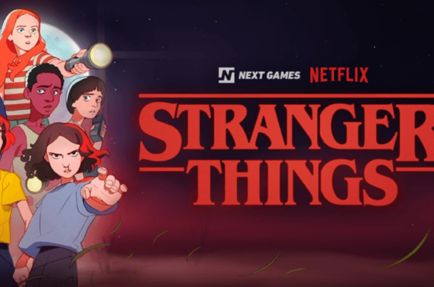 Netflix prépare un jeu mobile géolocalisé — Stranger Things