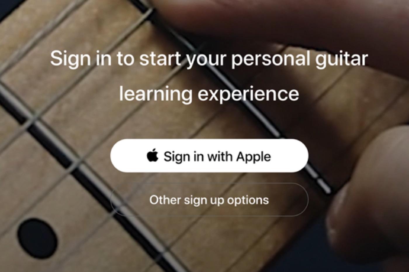 Le login d'Apple