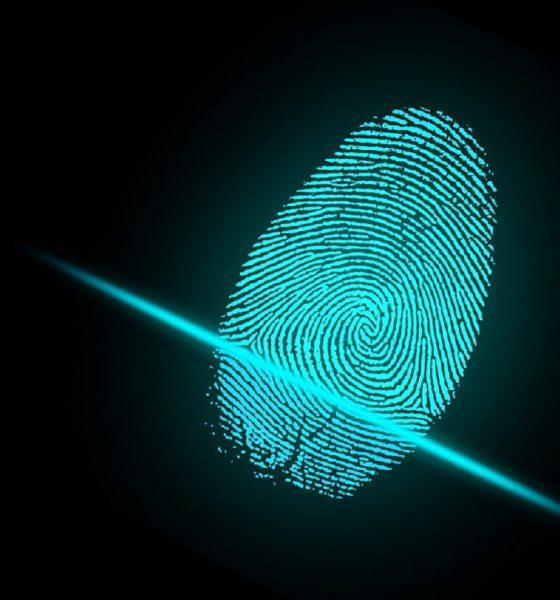 Le scanner d'empreintes digitales