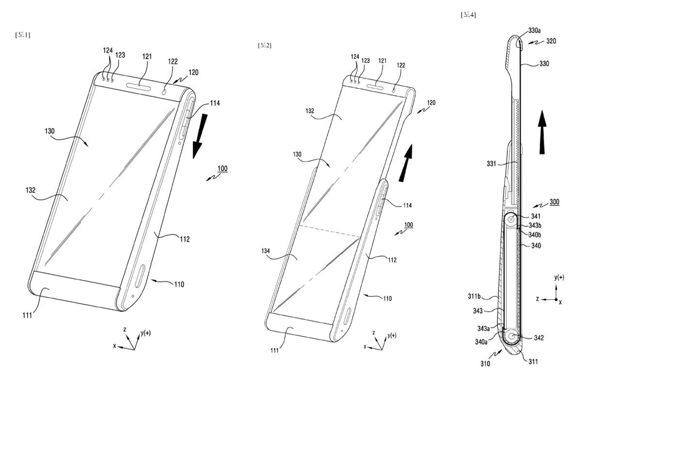Le smartphone à écran enroulable de Samsung