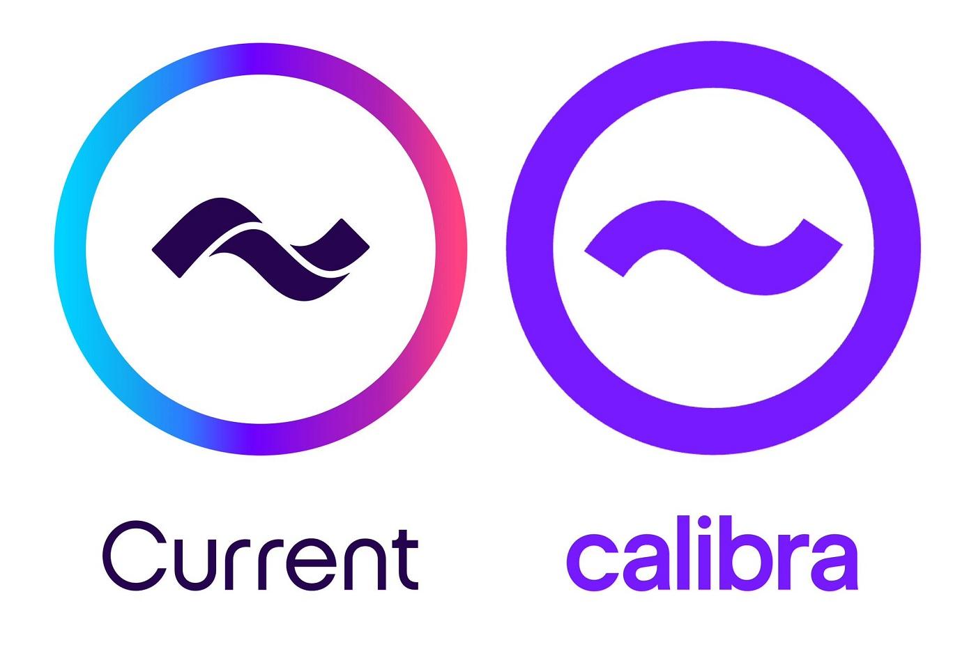 Les logos de Calibra et de Current