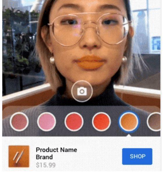 Maquillage en réalité augmentée