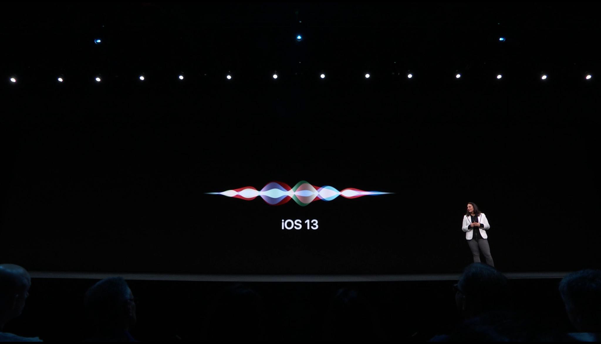 Siri iOS 13