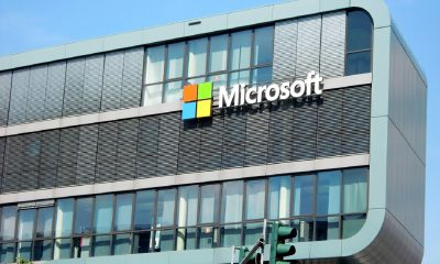 Un bâtiment Microsoft