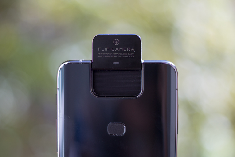 Flip Camera du Asus ZenFone 6