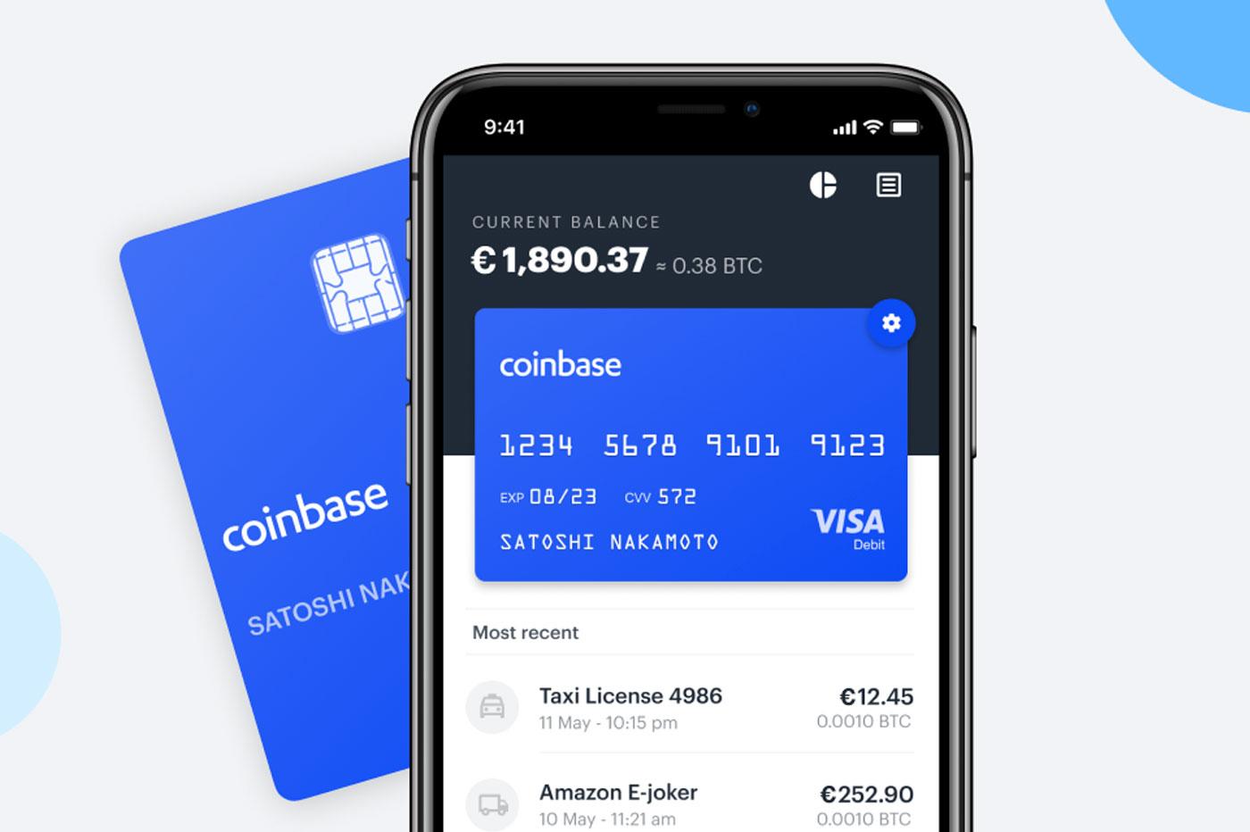 Coinbase : vous pouvez payer en Bitcoin avec cette carte !