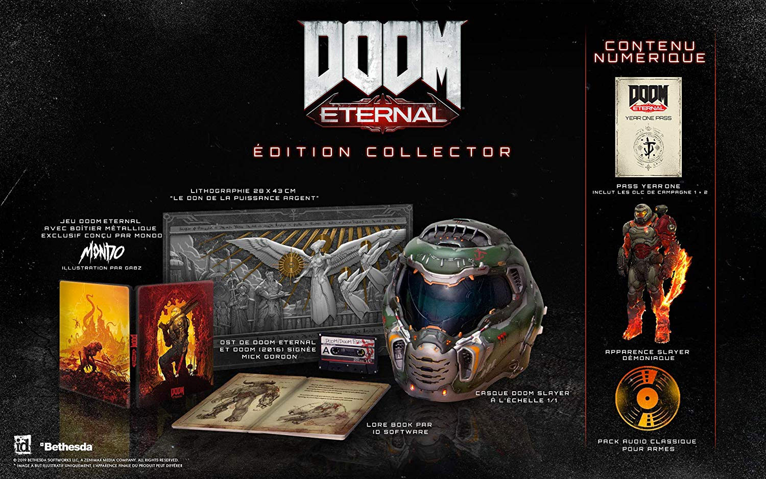 Précommande Doom Eternal Collector
