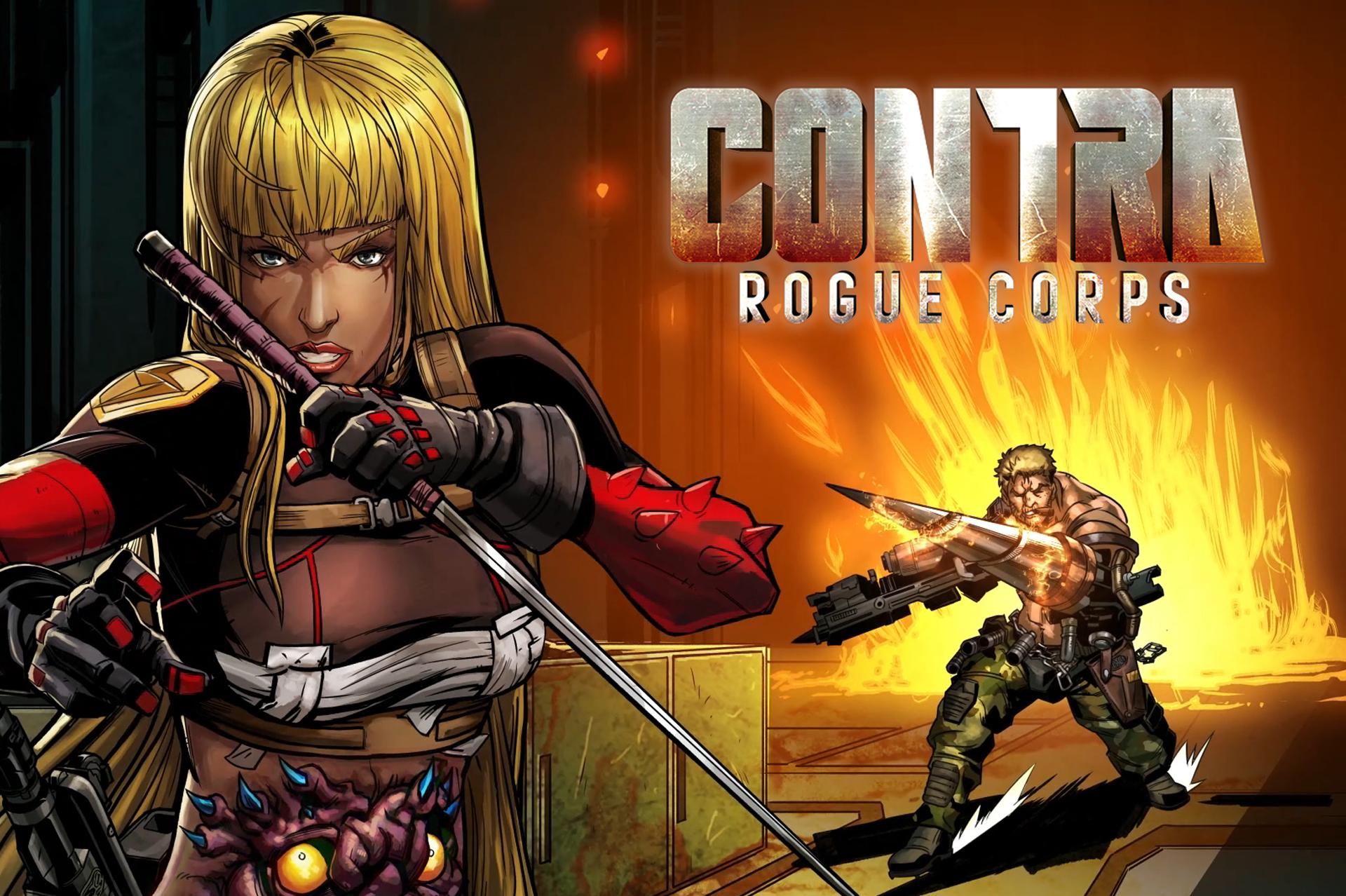E3 2019 Contra Rogue Corps Retro 2019 Konami