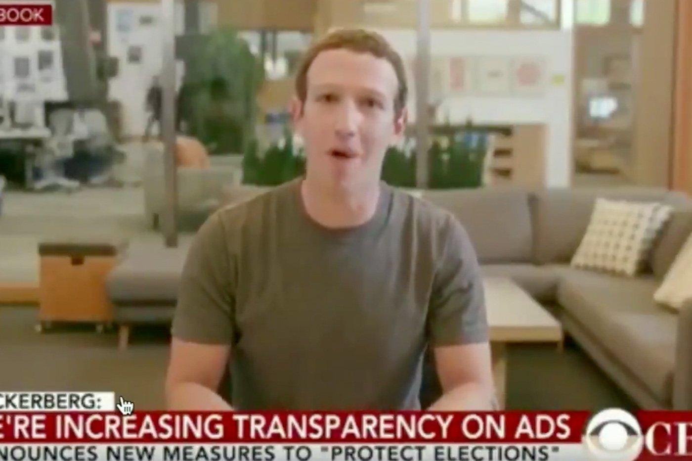 Facebook deepfakes
