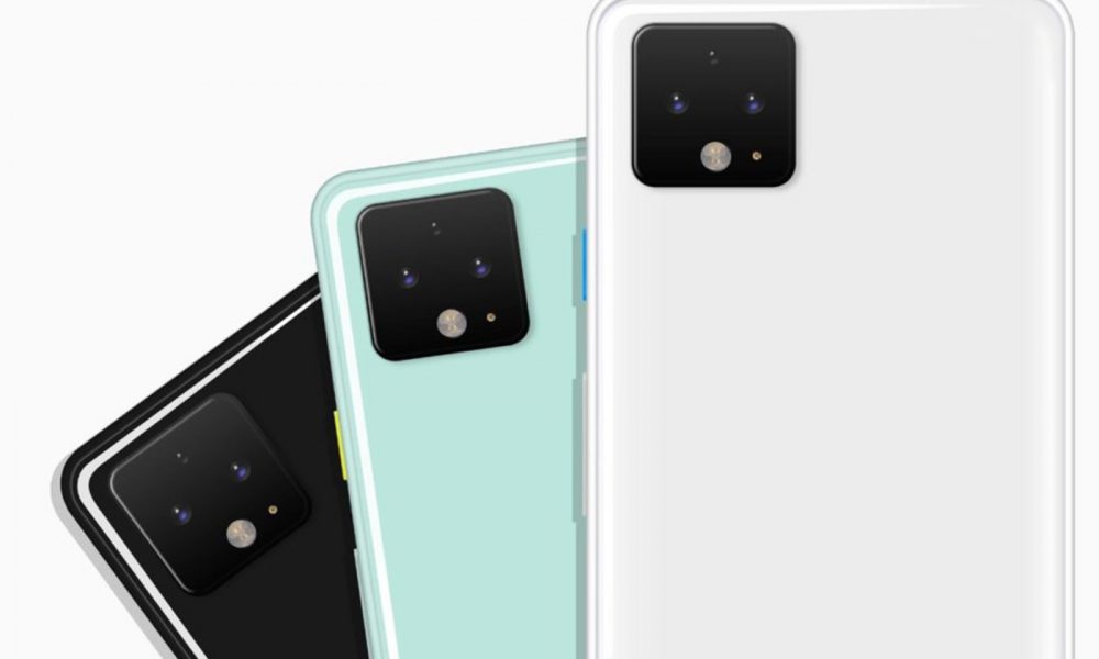 Google pixel 4 couleurs