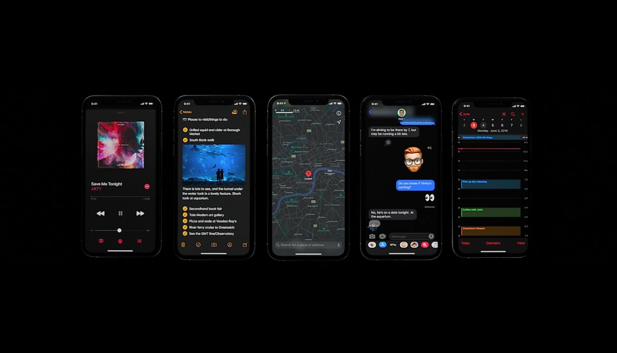 iOS13 Dark Mode