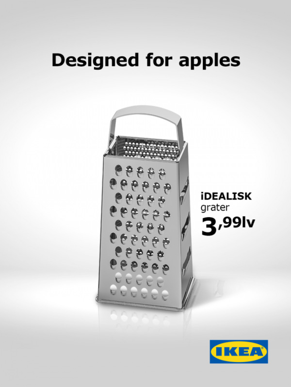 IKEA Apple troll