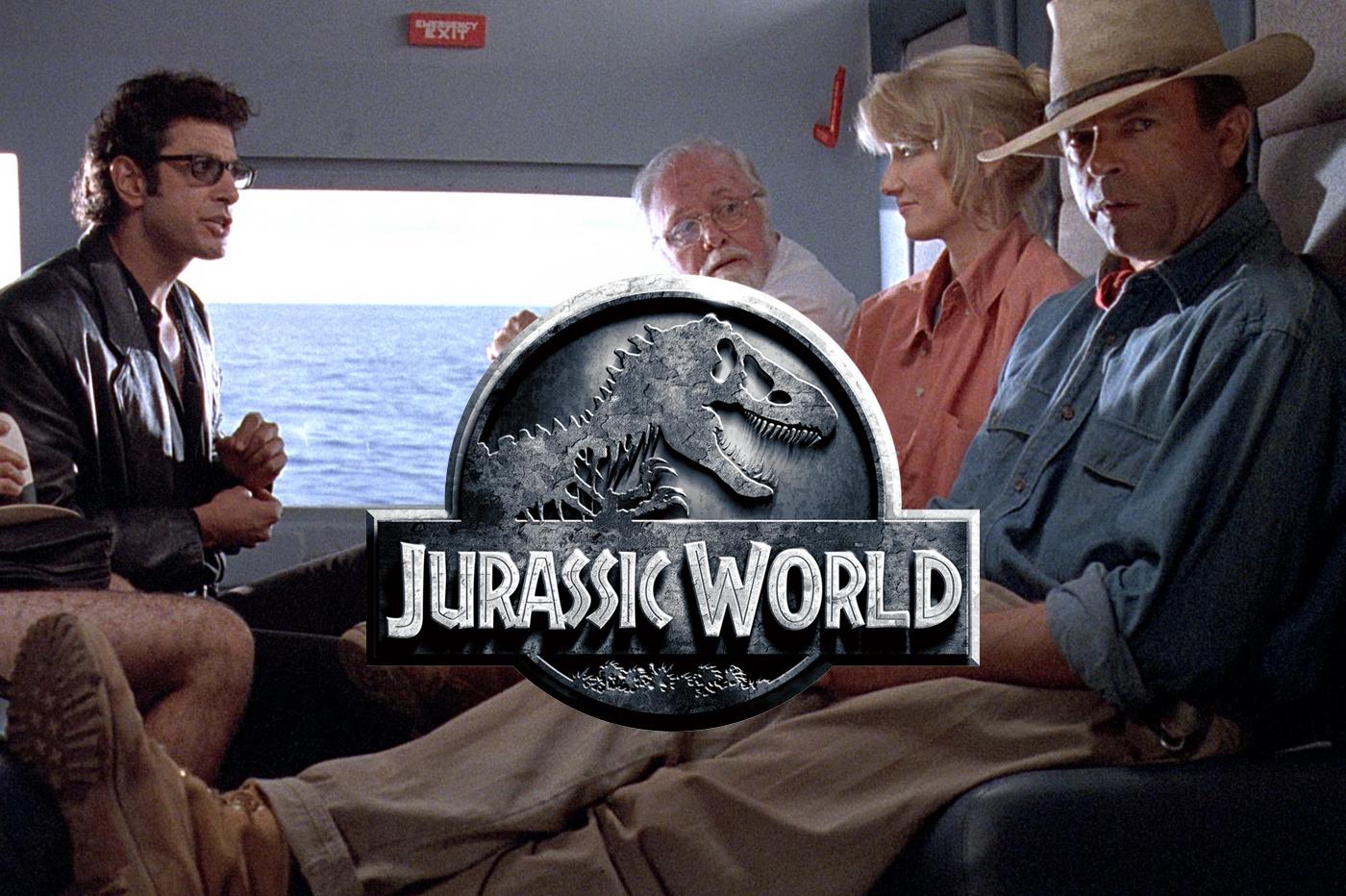 Jurassic World 3 acteurs premier Jurassic Park