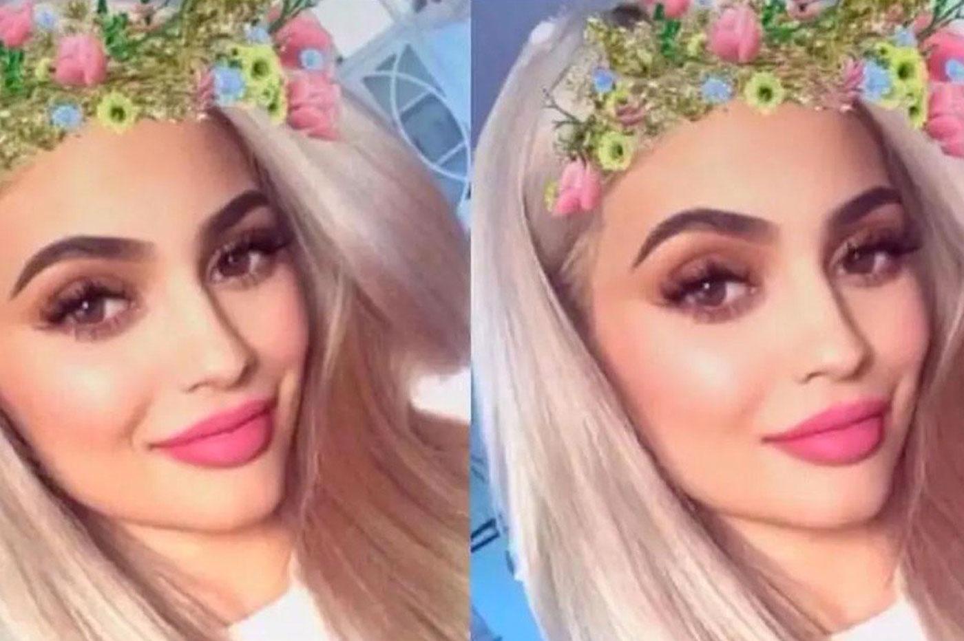 Kylie Jenner sur Snapchat