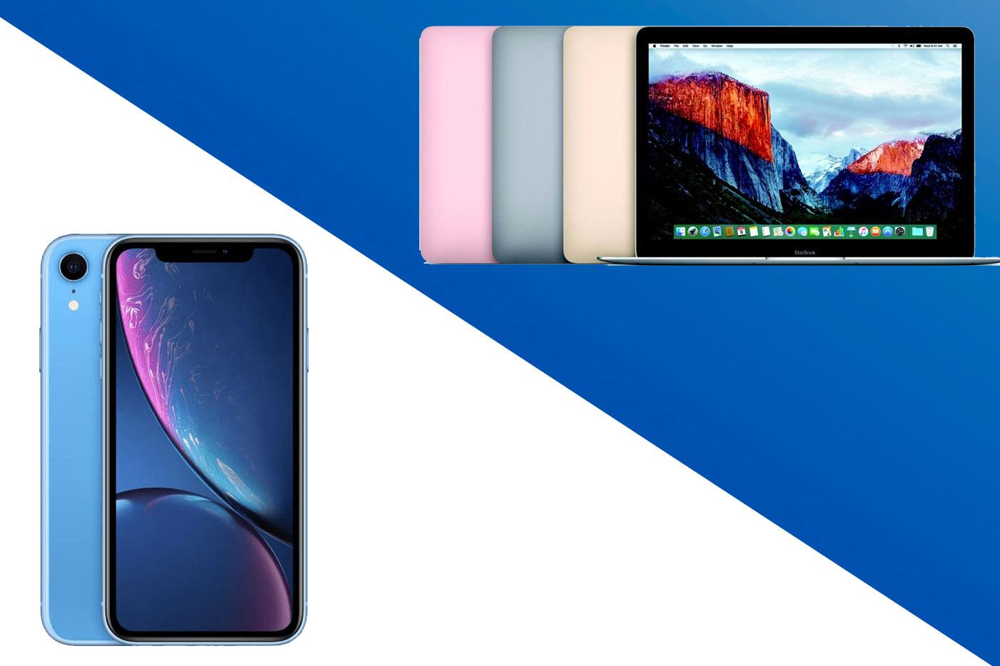 Soldes MacBook iPhone XR