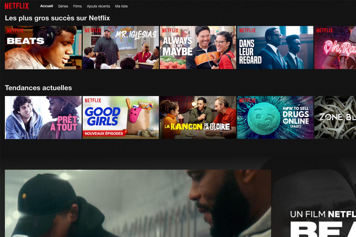 Sur Netflix, voici les films et les séries qui débarquent en juillet 2019