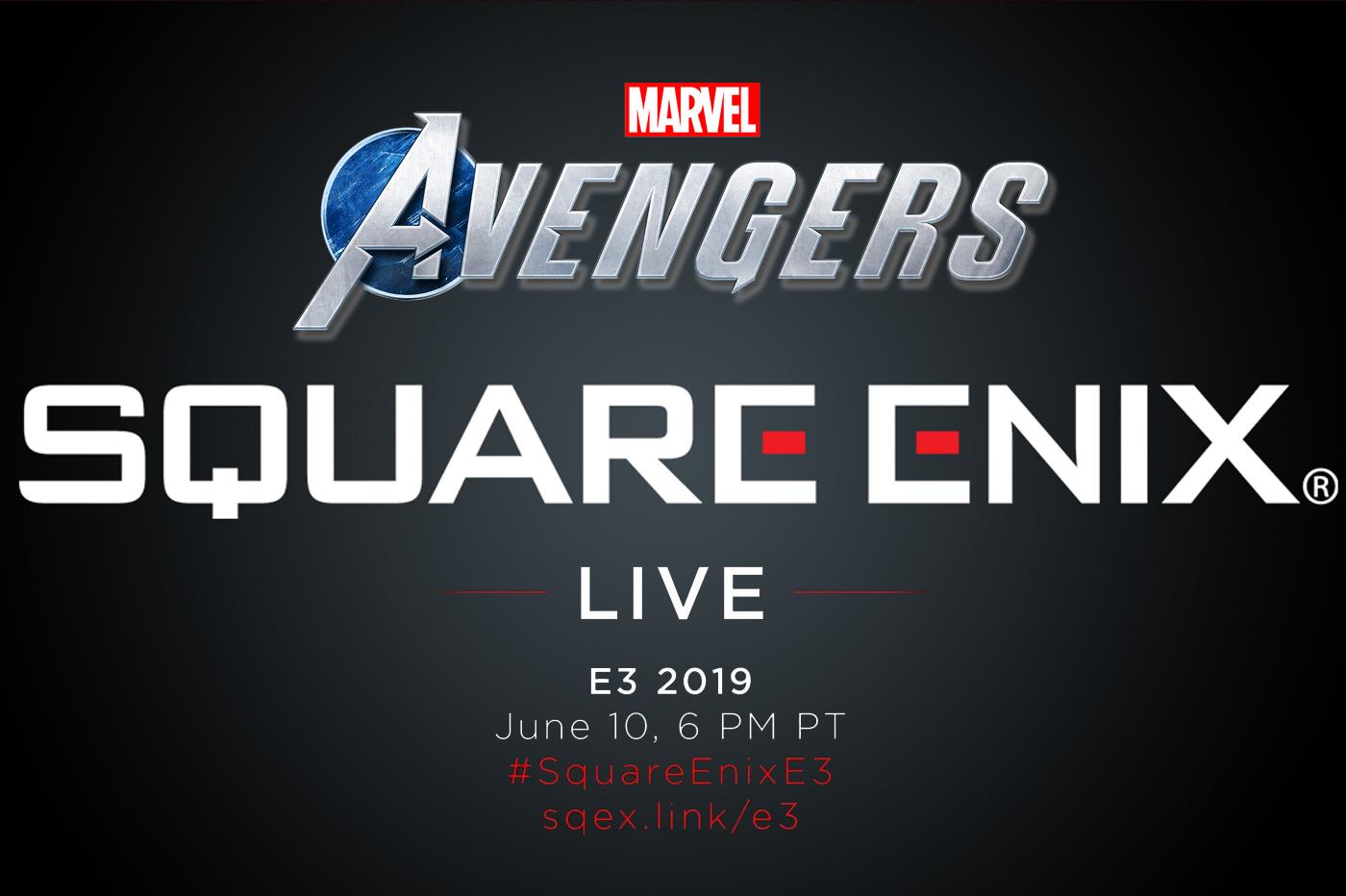 Square Enix Avengers E3 2019