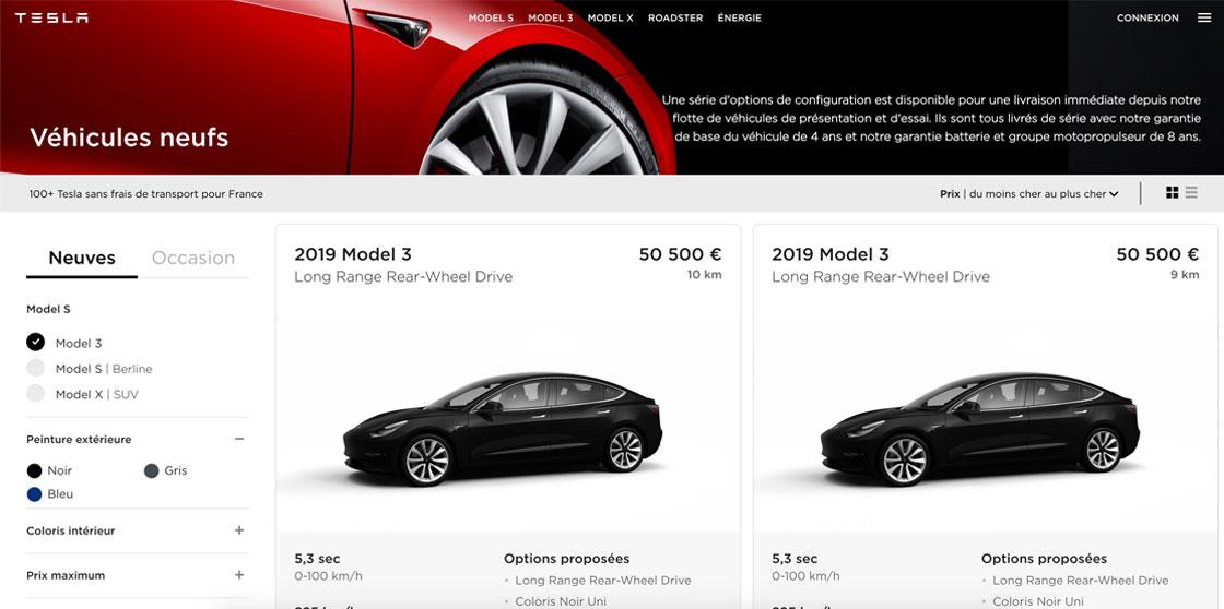 Occasion Model 3 Tesla